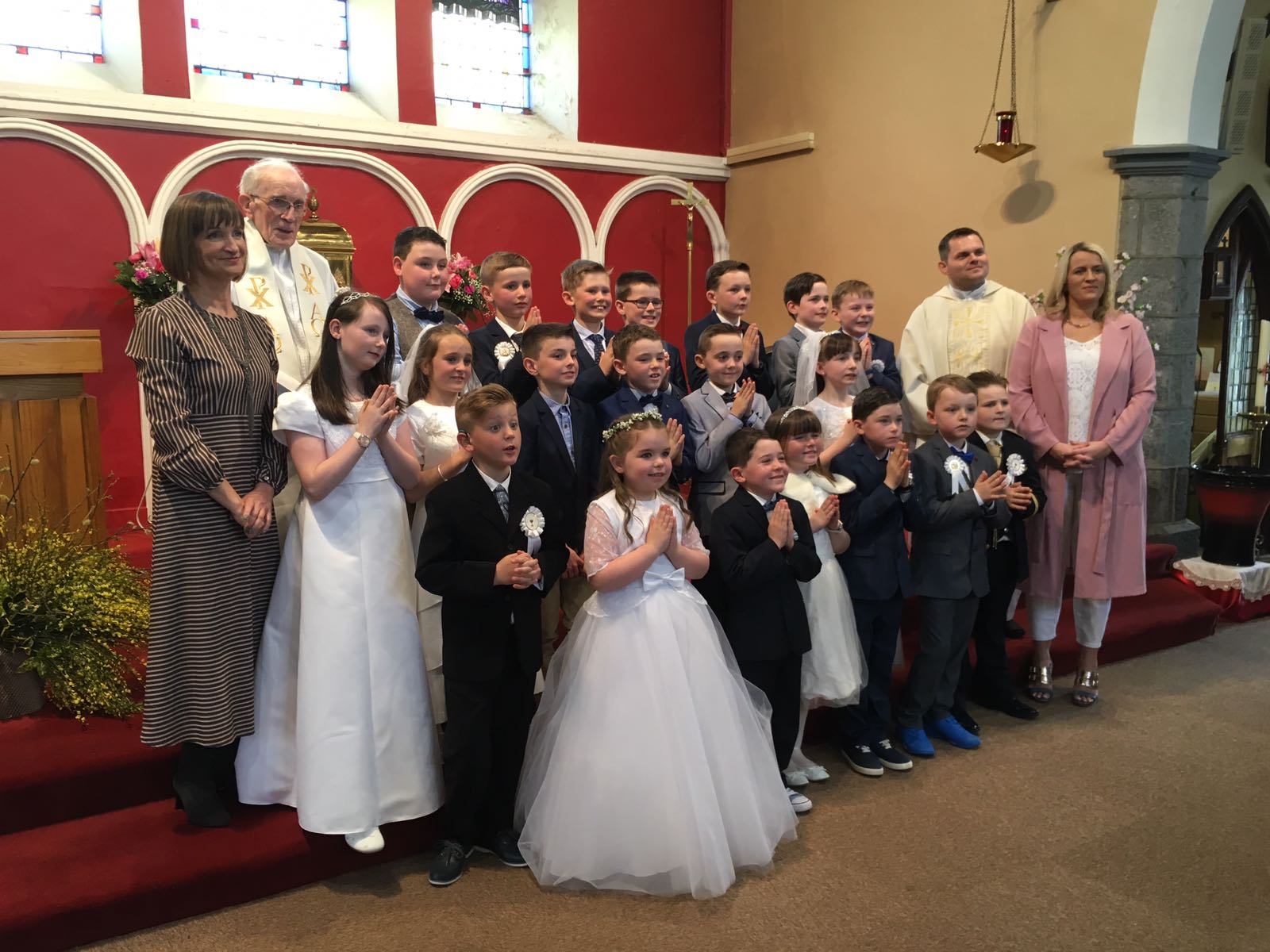 💒  Second Class celebrated their First Holy Communion  💒