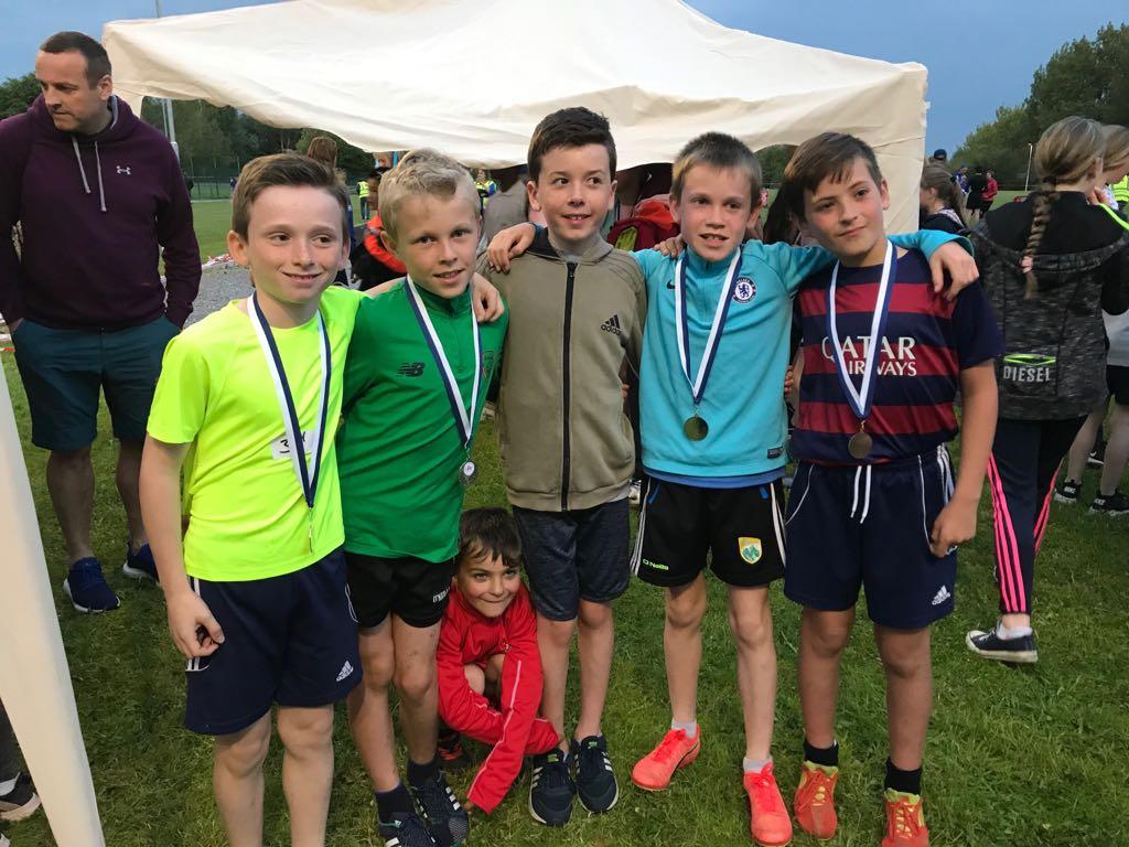 Caherleaheen wins 'Best School Trophy' 🏆at Tralee Schools Athletics.