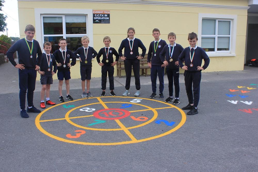 Champs at Kerry Schools Athletics Finals.