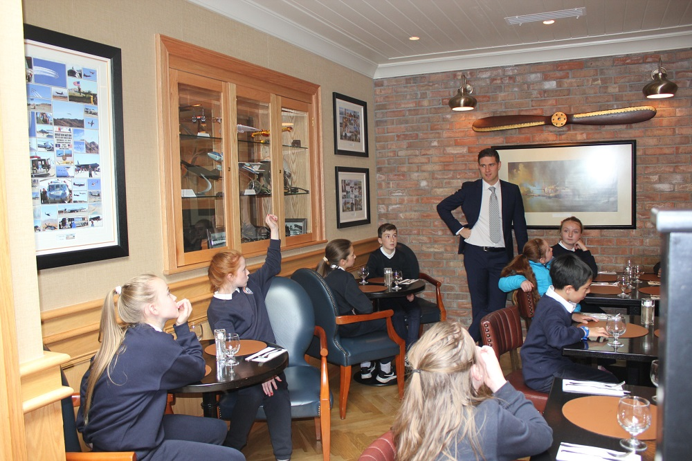Ballygarry Hotel Welcomes our Young Entrepreneurs of the Future.