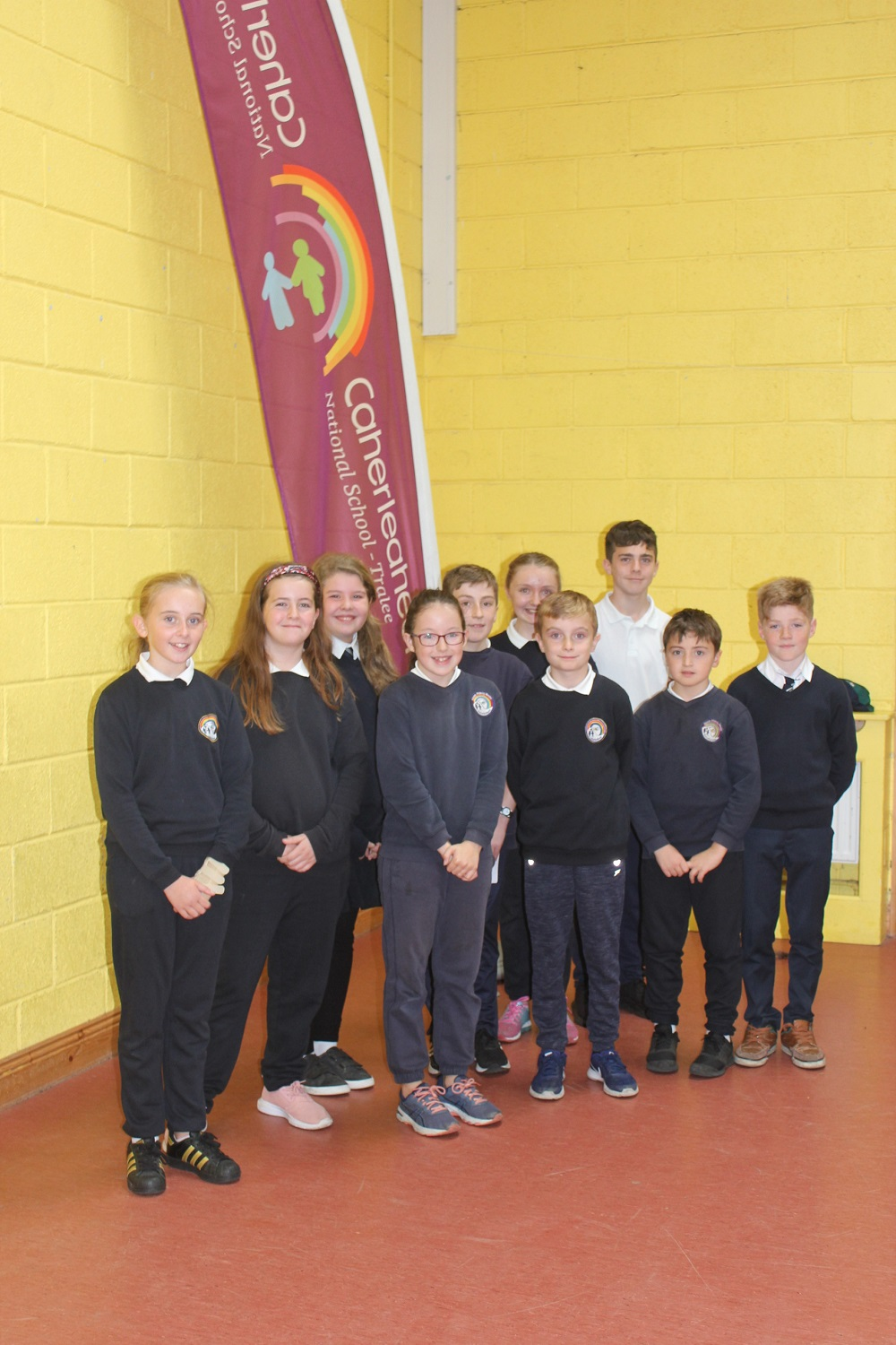 Meet our  first ever Caherleaheen Student Council. (CSC)