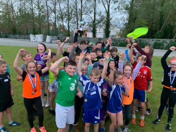 Caherleaheen Wins Tralee Primary Schools Athletics Trophy.