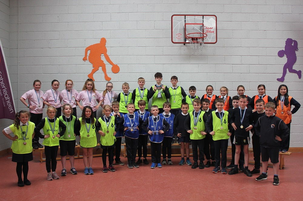 Caherleaheen Wins Tralee Primary Schools Athletics Trophy.