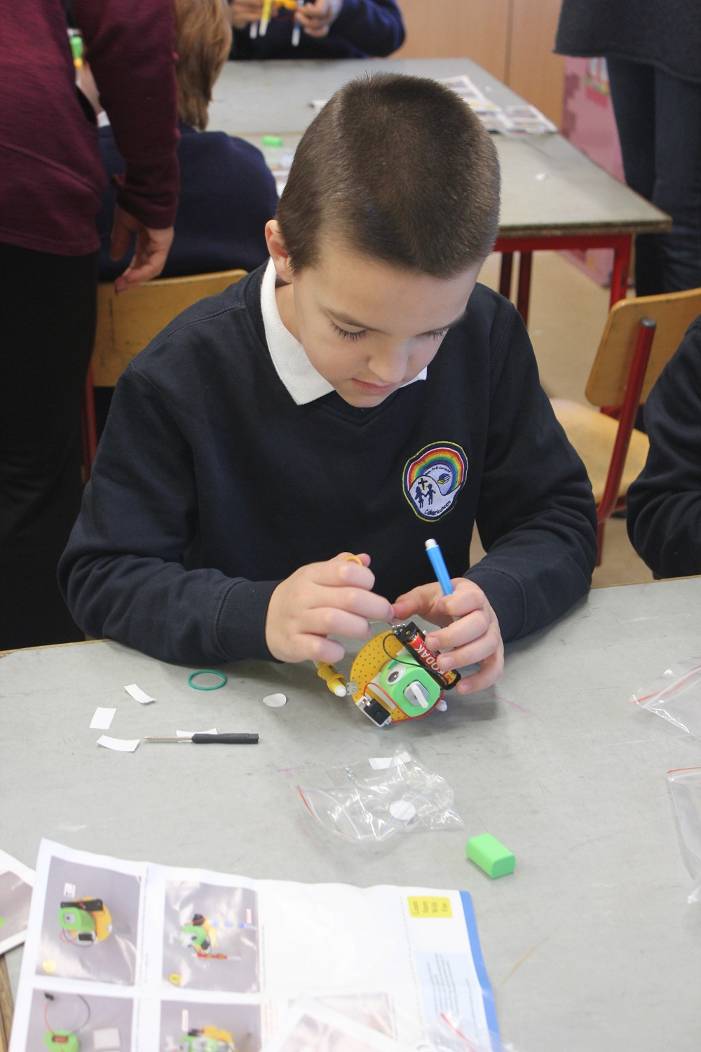Another Busy & Engaging Fortnight…..Science, Robots,Votebots, Book Fair, km challenge, girls Futsal news and more……!!!
